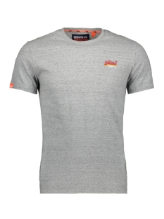 Superdry T-shirt VINTAGE EMBROIDERY S/S M10107ET PUMICE STONE MARL