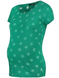 SuperMom Positie shirt STARS S0971 CADMIUM GREEN