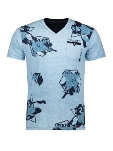 t shirt shortsleeve 15127 gabbiano t-shirt blue