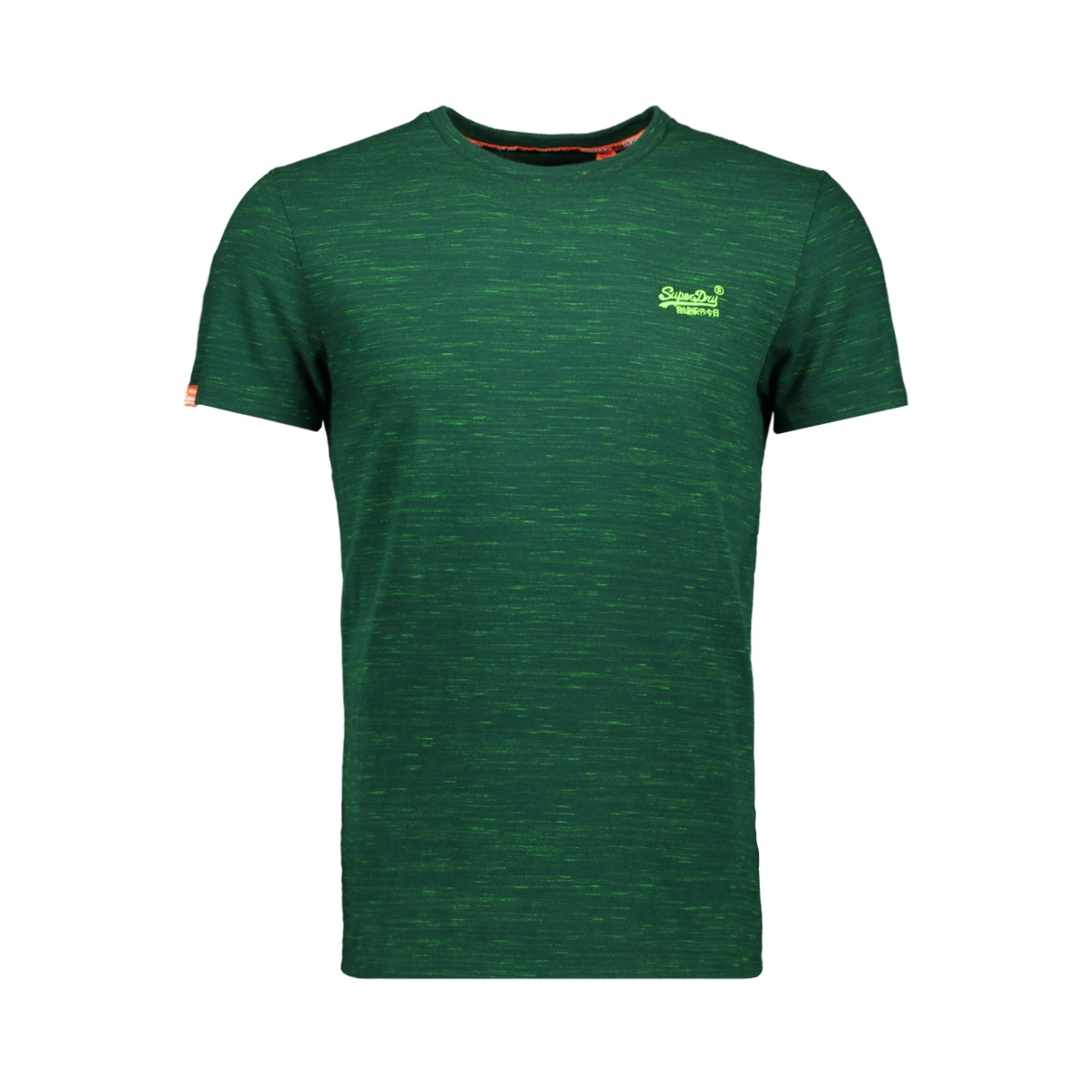 vintage embroidery s/s m10107et superdry t-shirt apple green space dye