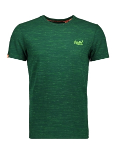Superdry T-shirt VINTAGE EMBROIDERY S/S M10107ET Apple Green Space Dye
