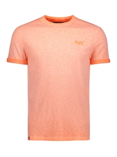 Superdry T-shirt LOW ROLLER TEE M10101RT Hyper Pop Orange