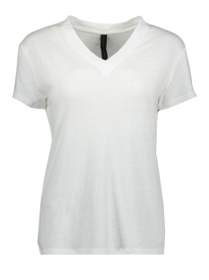 10 Days T-shirt V-NECK TEE 20 753 9101 WHITE