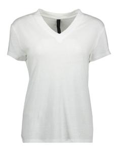 10 Days T-shirt V-NECK TEE 20 753 9101 WHITE