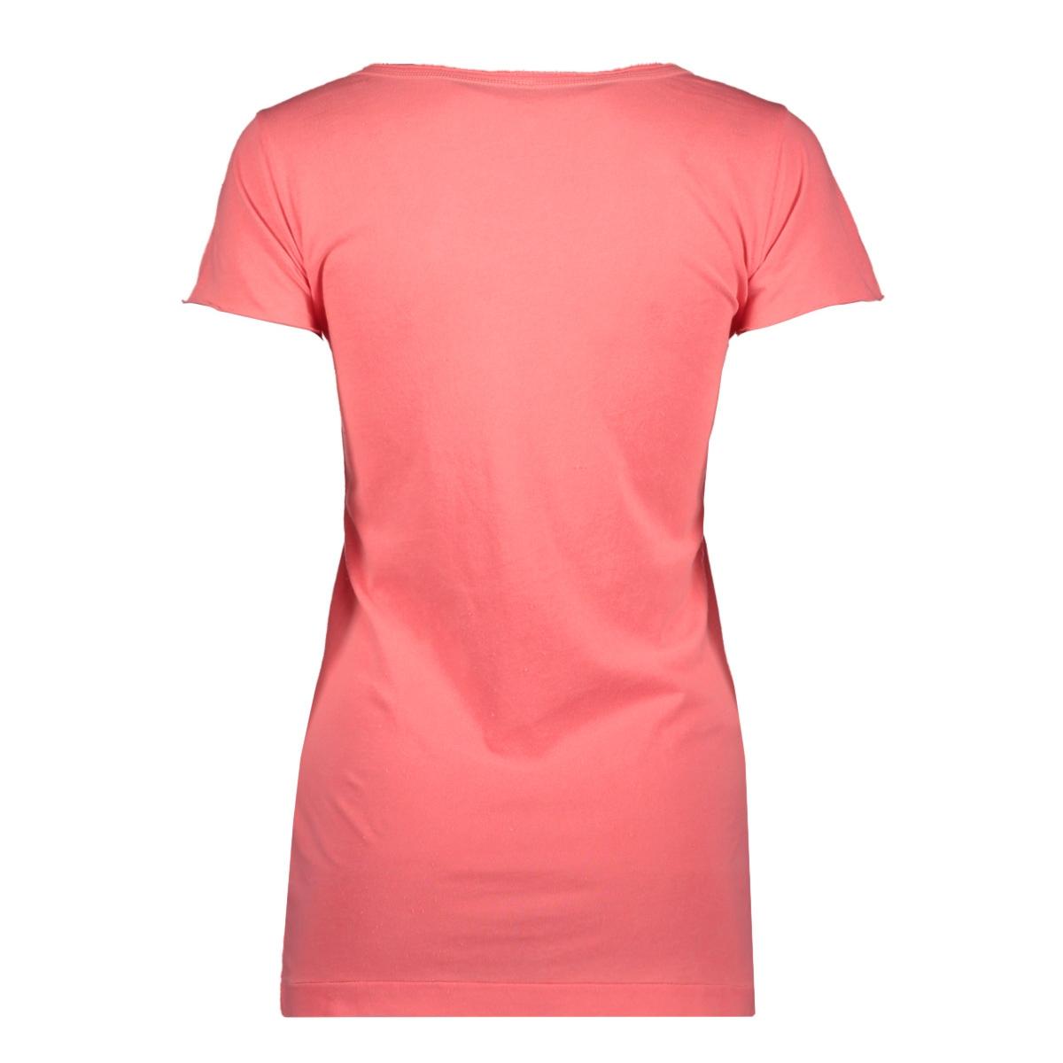 shortsleeve tee 20 742 9101 10 days t-shirt fluor peach