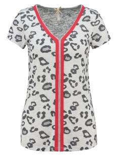 Key Largo T-shirt WT TILLY V-NECK WT00167 1001 OFFWHITE