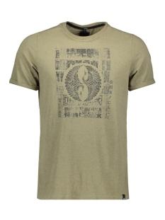 Twinlife T-shirt T SHIRT 1901 5126 M 1 5301 DARK KHAKI