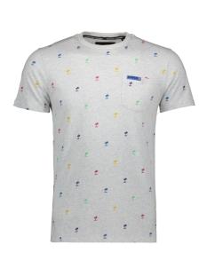 Superdry T-shirt M10101ET VINTAGE SILVER MARL