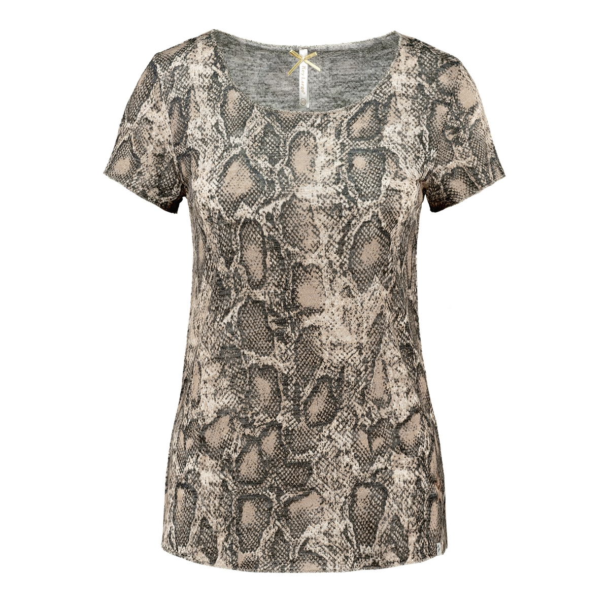 wt00152 wt reptile round key largo t-shirt 1606 mocca brown