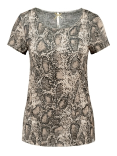 Key Largo T-shirt WT00152 WT REPTILE ROUND 1606 MOCCA BROWN
