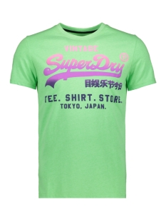 Superdry T-shirt LOGO HYPER FADE TEE M10016HQ ACID APPLE