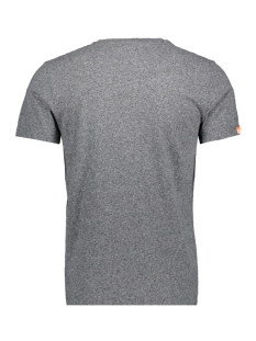 orange label vintage m10007tq superdry t-shirt noir grit