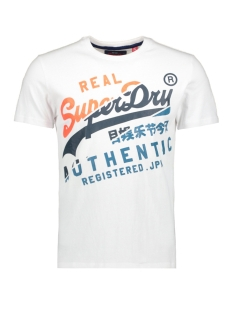 Superdry T-shirt VINTAGE AUTHENTIC TEE M10023AQ OPTIC