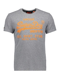 Superdry T-shirt SHIRT SHOP FEEDER TEE M10065TR NAVY GREY FEEDER