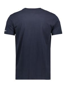 tee quote mu11 0013 haze & finn t-shirt dark navy/golden rod print