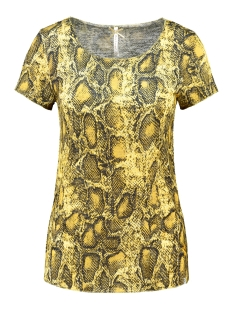 Key Largo T-shirt WT REPTILE ROUND WT00152 1400 YELLOW