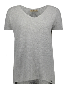 Smith & Soul T-shirt V-NECK SHIRT 0419-0461 GREY MELANGE