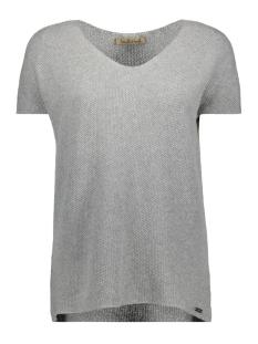 Smith & Soul T-shirt V-NECK SHIRT 0419-0461 GREY MELANGE