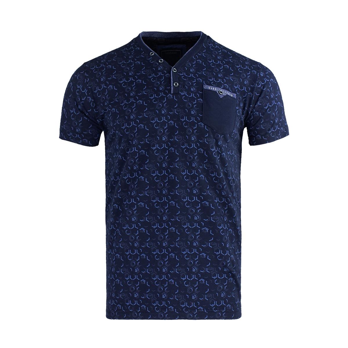 t shirt shortsleeve 15132 gabbiano t-shirt navy