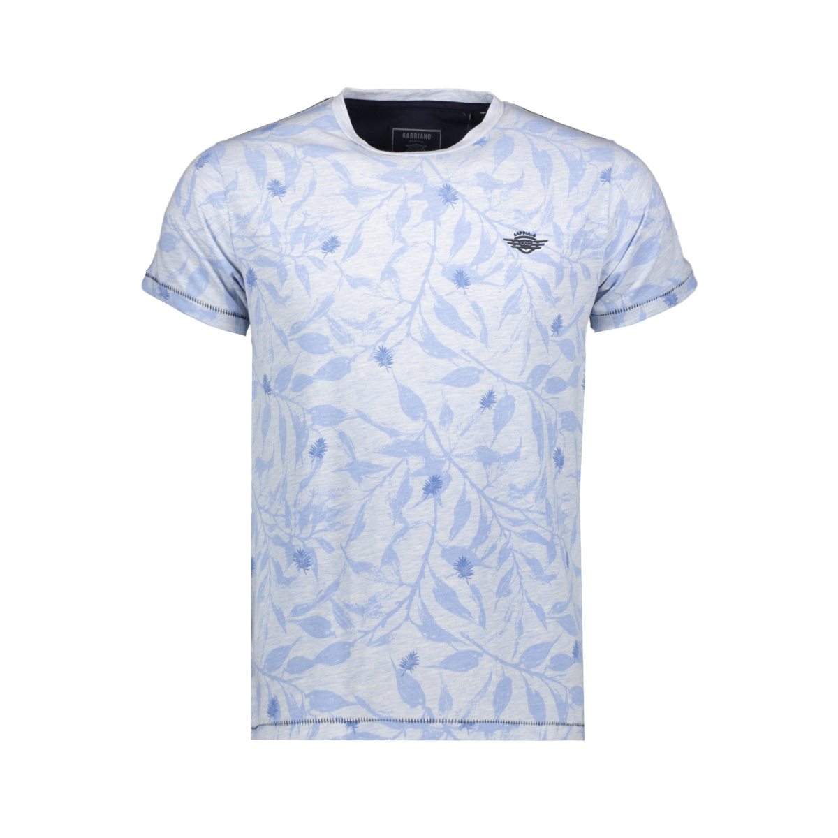 t shirt 15121 gabbiano t-shirt blue