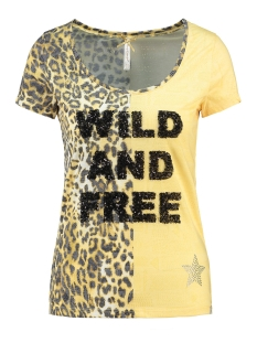 Key Largo T-shirt WT FREE ROUND WT00146 1400 YELLOW