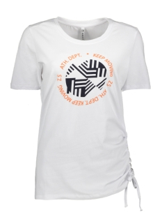 Zoso T-shirt STEPHANIE SHIRT WITH PRINT 192 WHITE SALMON