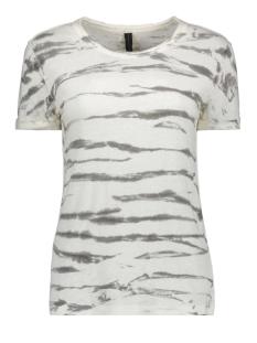 10 Days T-shirt TEE ZEBRA 20 754 9102 BONE