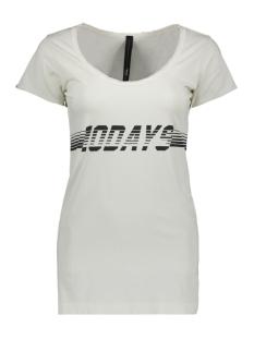 10 Days T-shirt SHORTSLEEVE TEE 20 742 9102 BONE