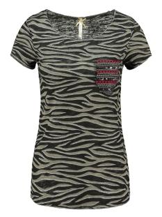 Key Largo T-shirt EXPLORE ROUND WT00161 KHAKI