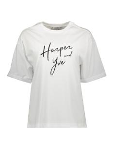 Harper & Yve T-shirt BOYFRIEND TEE SS19K320 030 OFF WHITE