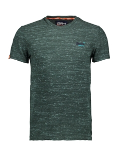 vintage embroidery tee m10168eu superdry t-shirt sea green