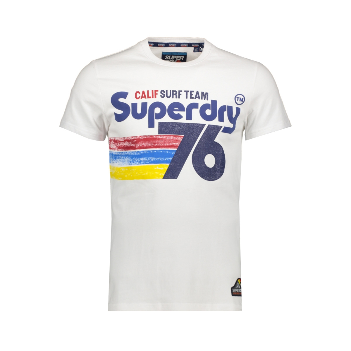 76 surf tee m10100iu superdry t-shirt optic