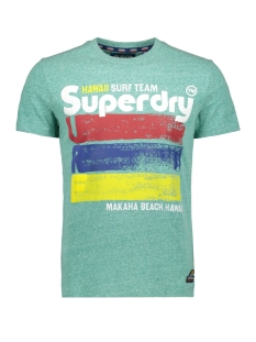 Superdry T-shirt 76 SURF TEE M10100IU NORTH GREEN