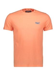 Superdry T-shirt OL FLURO GRIT TEE M10164EU FLURO ORANGE GRIT