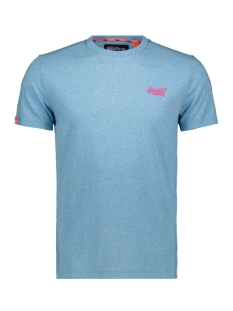 Superdry T-shirt OL FLURO GRIT TEE M10164EU FLURO BLUE GRIT