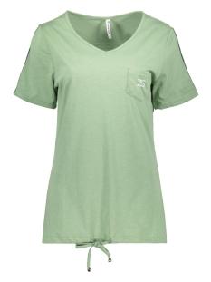 sanna shirt with backside pr 192 zoso t-shirt sage/white