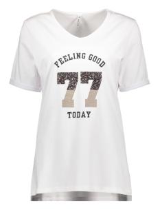 sheila t shirt with applicat 192 zoso t-shirt white