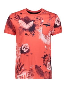 t shirt 15139 gabbiano t-shirt coral