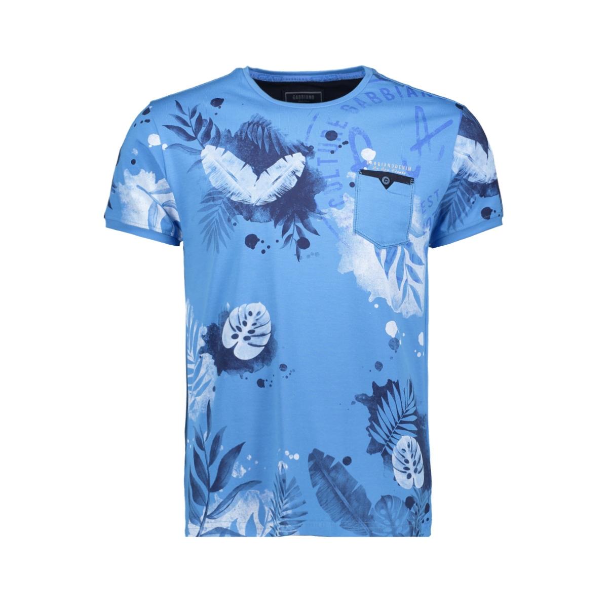 t shirt 15139 gabbiano t-shirt blue