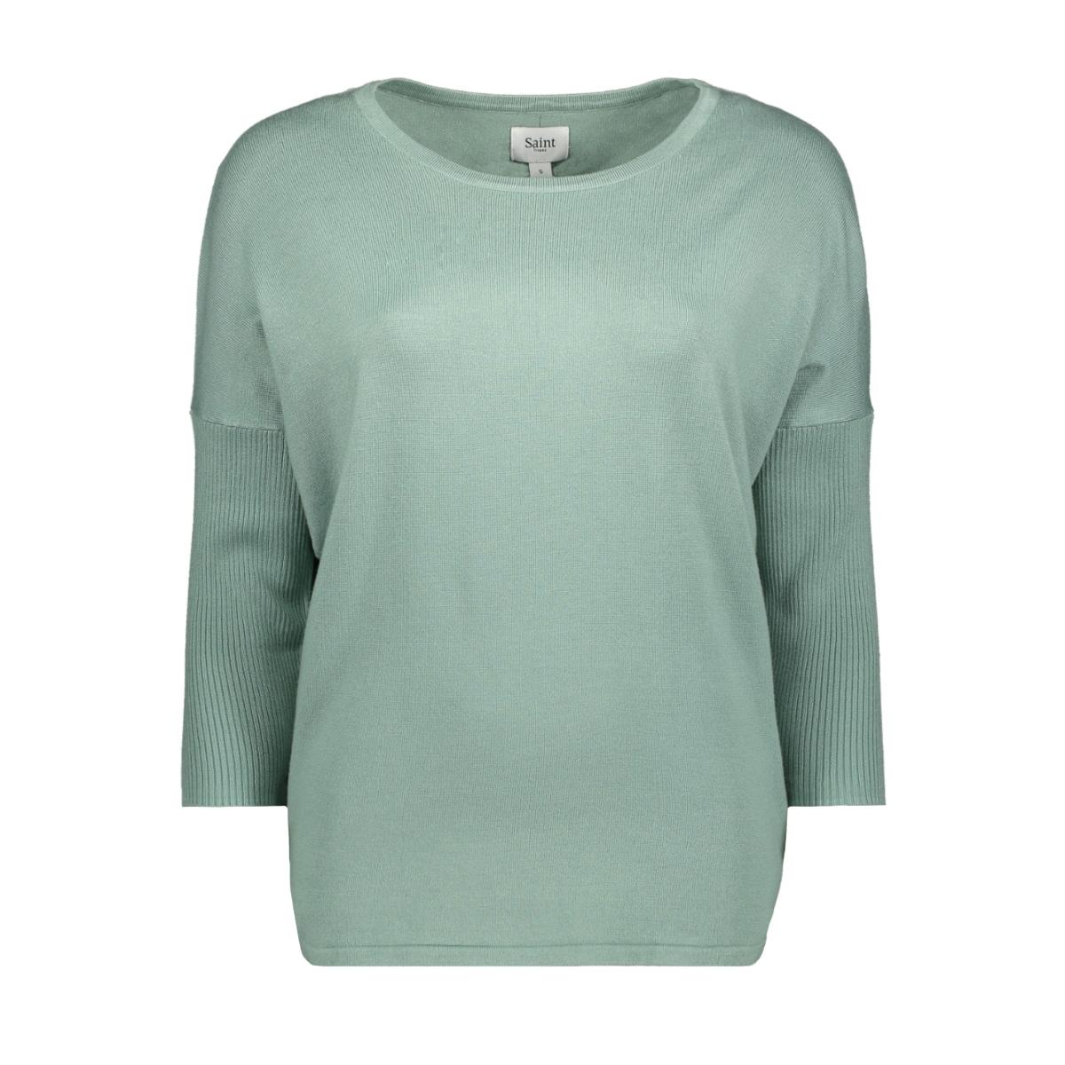 knit blouse w rib a2561 saint tropez trui 8308 surf