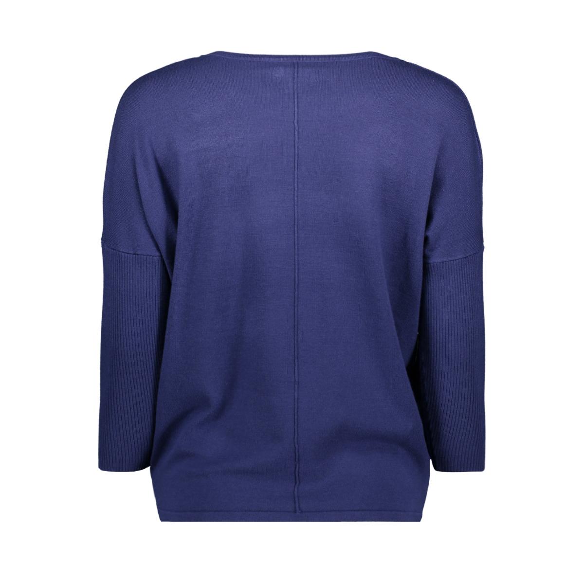 knit blouse w rib a2561 saint tropez trui 9242 ribbon