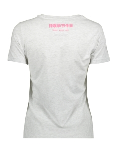 tropical infill entry g10323su superdry t-shirt ice marl