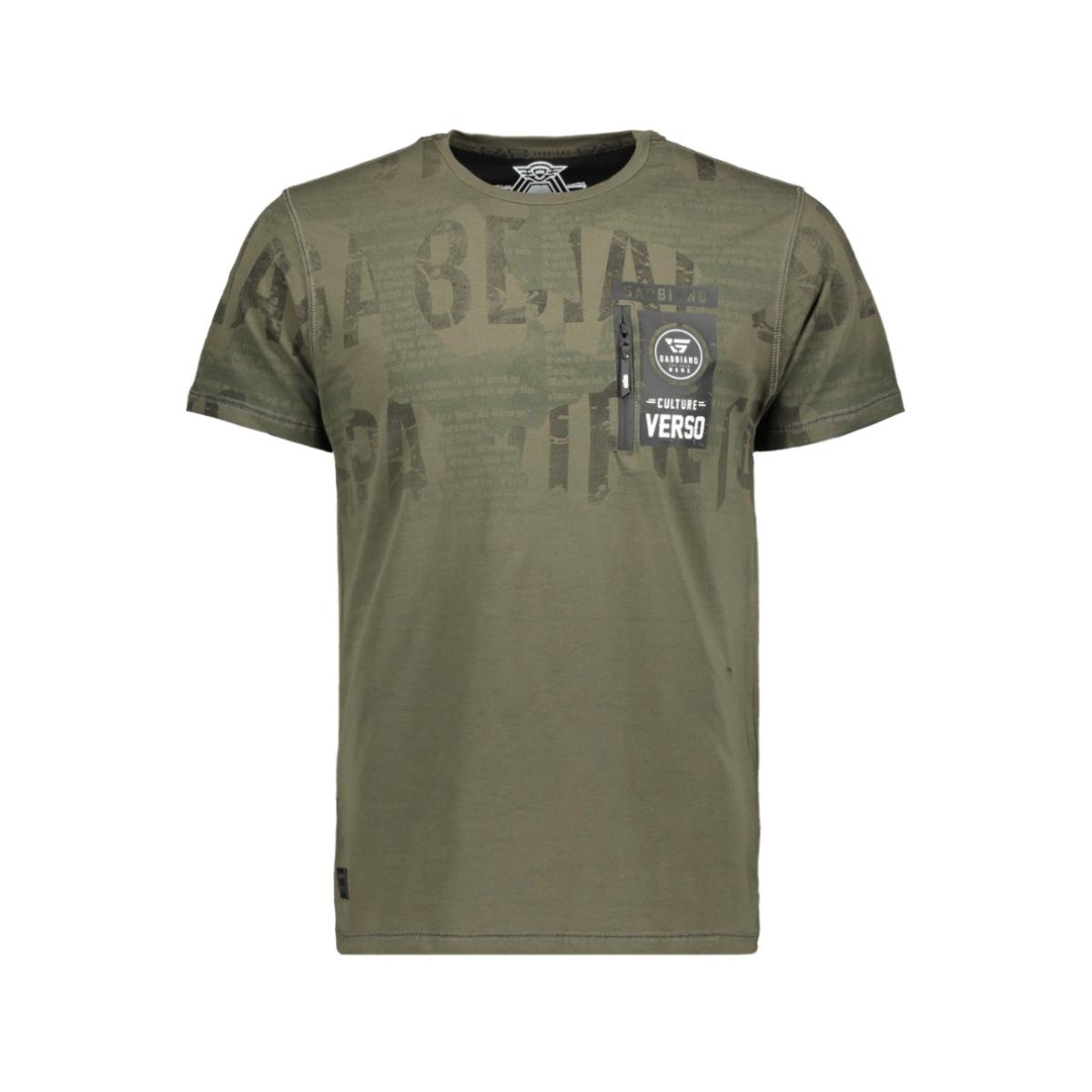 t shirt 13867 gabbiano t-shirt army