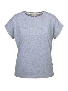 Zusss T-shirt TOF BASIC T-SHIRT 03TT19fBgr GRIJS MELEE