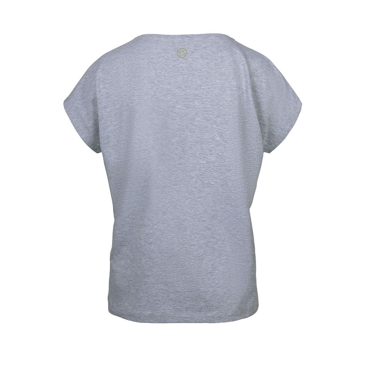tof basic t-shirt 03tt19fbgr zusss t-shirt grijs melee