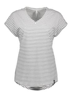 angie striped t shirt 193 zoso t-shirt white/black