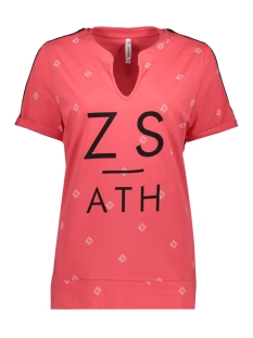 Zoso T-shirt SKALA PRINTED SHIRT 193 RED