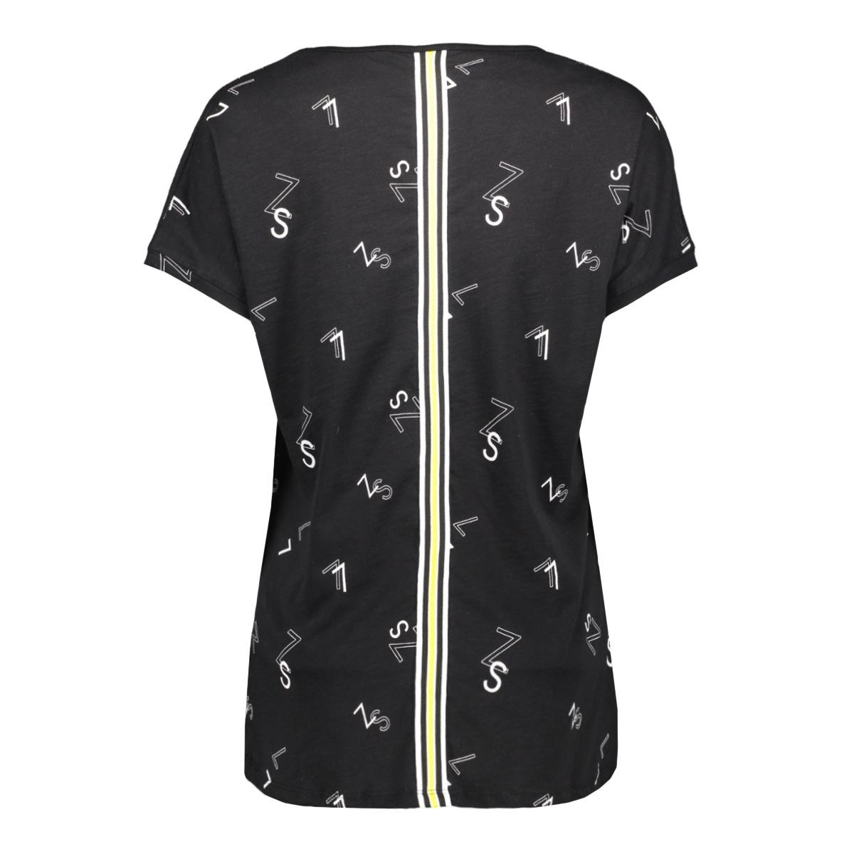 skai t-shirt with print 193 zoso t-shirt black/yellow