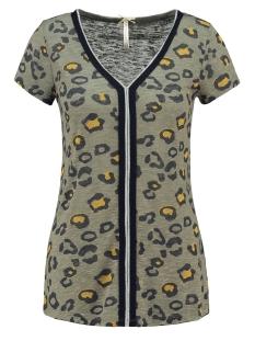 Key Largo T-shirt TILLY V-NECK T-SHIRT WT00167 1505 KHAKI