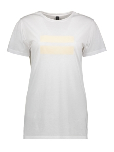 10 Days T-shirt TEE TWO STRIPES 20 741 9103 WHITE